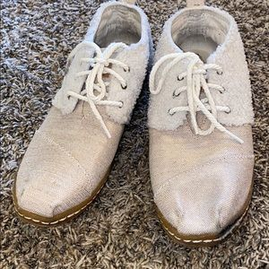 TOMS Women's Bota Lace Up/Slip Ons Sz 10W